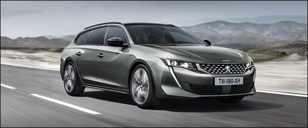 Officieel: Peugeot 508 SW Break (2018)