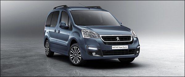 Officieel: Peugeot Partner Tepee Electric [170 km rijbereik]