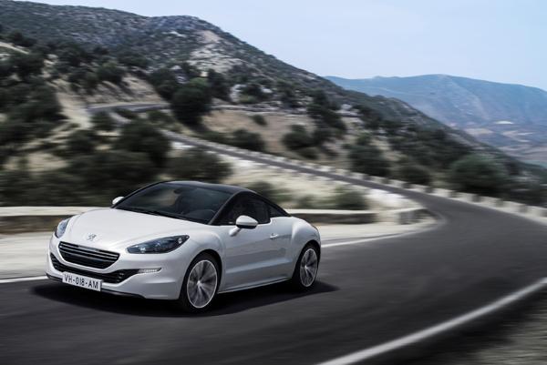 Peugeot RCZ test