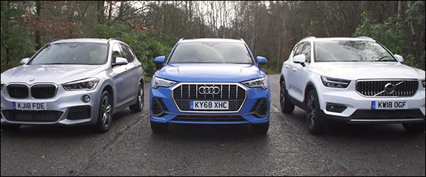 Poll: Audi Q3 vs BMW X1 vs Volvo XC40