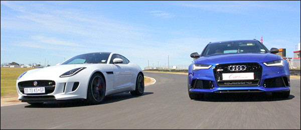 Poll: Audi RS6 Avant vs Jaguar F-Type Coupe R AWD