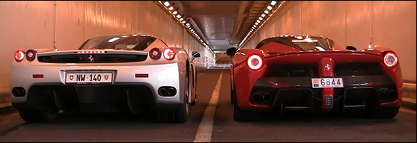Poll: Ferrari LaFerrari vs Ferrari Enzo Ferrari