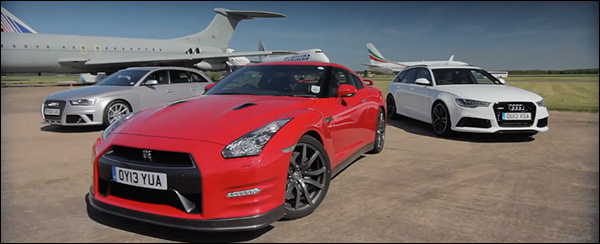 Poll: Nissan GT-R vs Audi RS4 vs Audi RS6