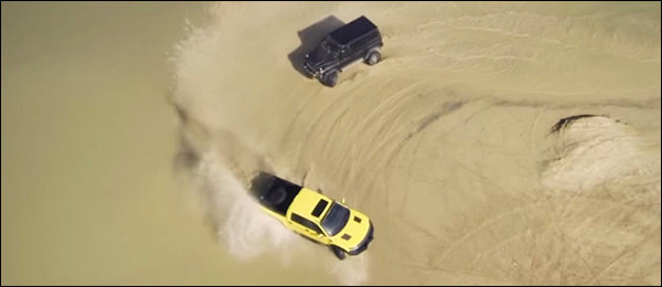 Poll: Mercedes G500 4×4² vs Ford Raptor