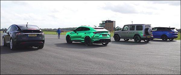 Poll: Tesla Model X vs Mercedes-AMG G63 vs Range Rover Sport SVR vs Lamborghini Urus (2018)