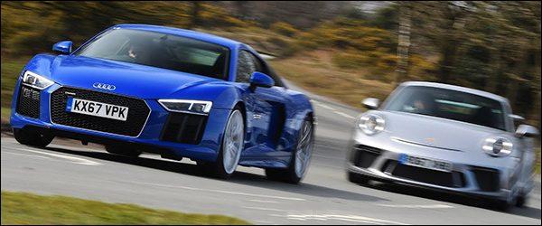 Poll: Audi R8 RWS vs Porsche 911 GT3