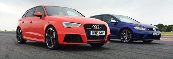 Poll: Audi RS3 Sportback vs Volkswagen Golf R