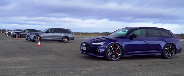 Poll: Audi RS6 vs BMW M5 vs Mercedes-AMG E63 vs Porsche Panamera (2020)