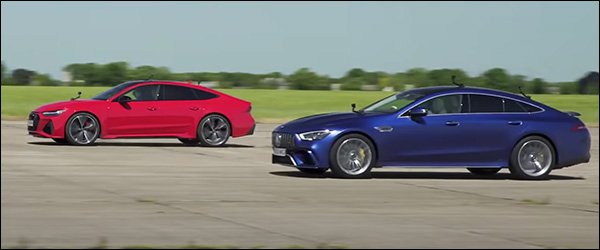 Poll: Audi RS7 Sportback vs Mercedes-AMG GT63 S 4-Door Coupe (2020)