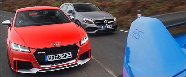 Poll: Audi TT RS vs Mercedes-AMG A45 vs Ford Focus RS