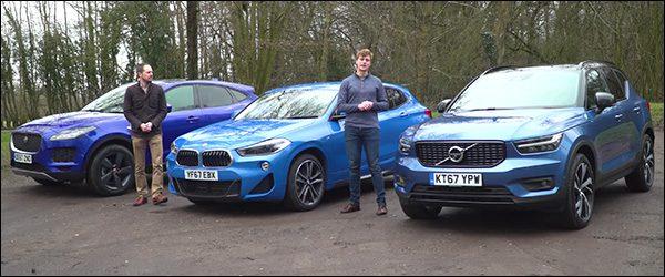 Poll: BMW X2 vs Volvo XC40 vs Jaguar E-Pace