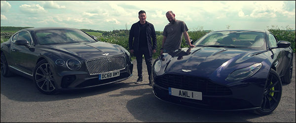 Poll: Bentley Continental GT vs Aston Martin DB11 AMR (2019)