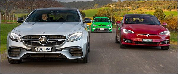 Poll: Mercedes-AMG E63 S vs Tesla Model S P100D vs HSV GTSR