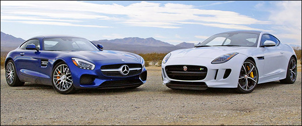Poll: Mercedes-AMG GT S vs Jaguar F-Type Coupe R AWD