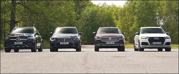 Poll: Mercedes GLE vs BMW X5 vs Volkswagen Touareg vs Audi Q7 (2019)