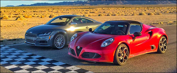 Poll: Alfa Romeo 4C Spider vs Audi TT-S