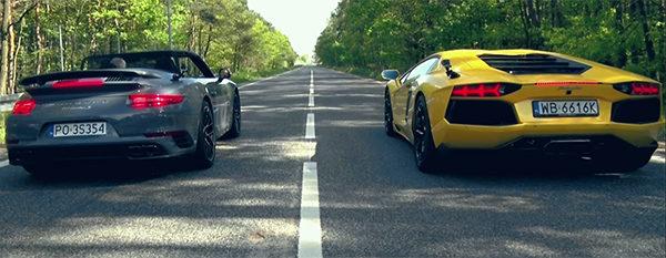 Poll: Porsche 991 Turbo S Cabriolet vs Lamborghini Aventador