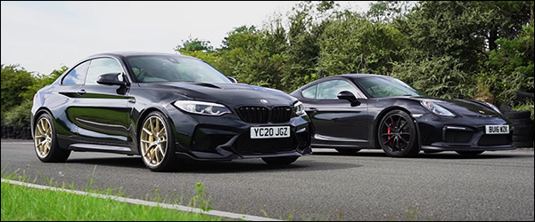Poll: BMW M2 CS vs Porsche 718 Cayman GT4 (2020)
