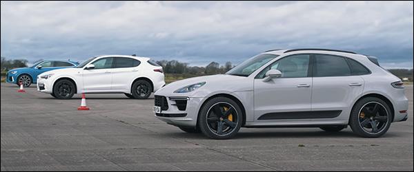 Poll: Alfa Romeo Stelvio Q vs Audi RS Q3 Sportback vs Porsche Macan Turbo (2020)