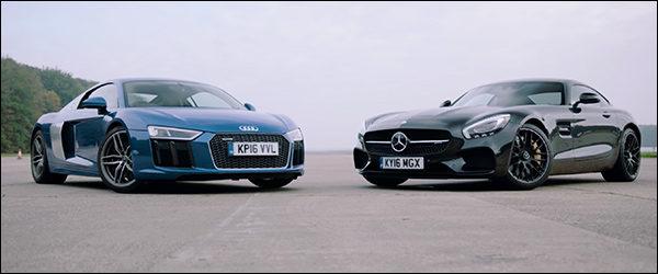 Poll: Audi R8 V10 vs Mercedes-AMG GT S