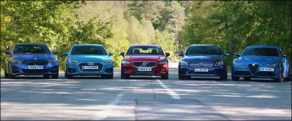 Poll: BMW 3 vs Audi A4 vs Volvo S60 vs Mercedes C vs Alfa Romeo Giulia (2019)