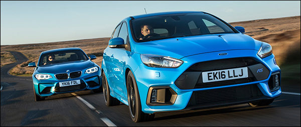 Poll: BMW M2 Coupé vs Ford Focus RS