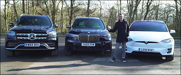 Poll: BMW X7 vs Mercedes GLS vs Tesla Model X (2020)