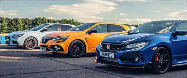 Poll: Honda Civic Type R vs Hyundai i30 N vs Renault Megane RS 280