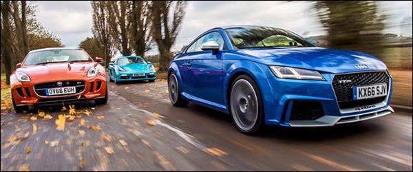 Poll: Audi TT RS vs Jaguar F-Type S vs Porsche 718 Cayman S