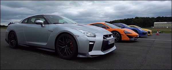 Poll: McLaren 570S vs Audi R8 vs Porsche 911 Turbo S vs Nissan GT-R
