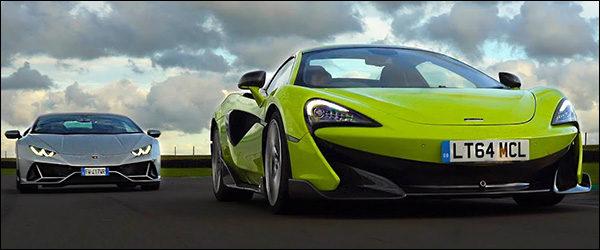 Poll: McLaren 600LT vs Lamborghini Huracan EVO (2019)