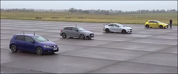 Poll: Mercedes-AMG A45 vs BMW M2 vs Audi RS3 vs Volkswagen Golf R (2020)