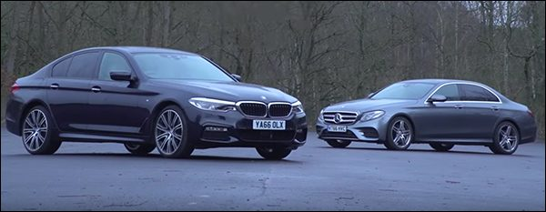 Poll: BMW 5-Reeks Berline vs Mercedes E-Klasse Berline