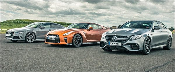 Poll: Nissan GT-R vs Audi RS7 Sportback vs Mercedes-AMG E63
