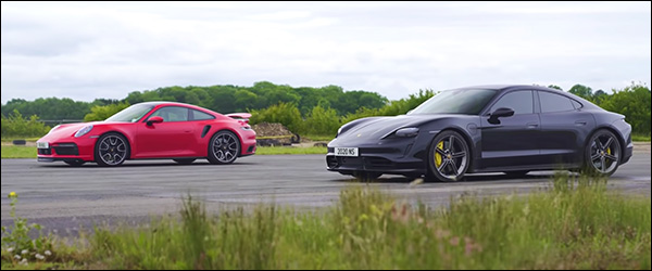 Poll: Porsche 911 (992) Turbo S vs Taycan Turbo S (2020)