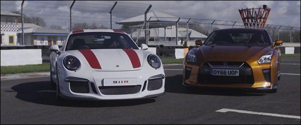 Poll: Porsche 911 R vs Nissan GT-R