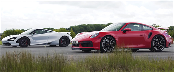 Poll: Porsche 911 (992) Turbo S vs McLaren 720S (2020)