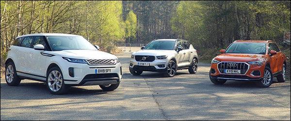 Poll: Range Rover Evoque vs Volvo XC40 vs Audi Q3 (2019)