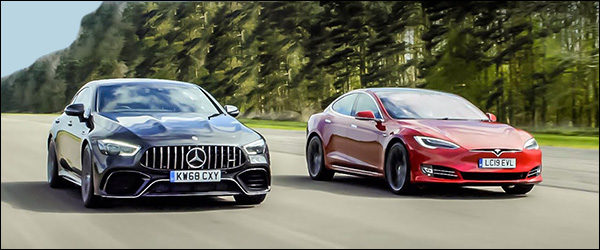 Poll: Tesla Model S P100D vs Mercedes-AMG GT63 4-Door (2019)