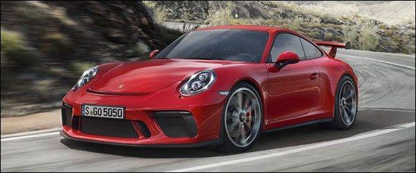 Officieel: Porsche 911 (991) GT3 facelift [500 pk / 460 Nm]