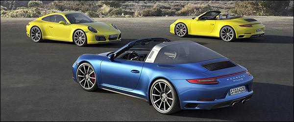Officieel: Porsche 911 Carrera 4 (S) en Targa 4 (S) facelift