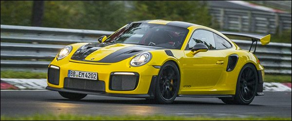 Porsche 911 991 GT2 RS claimt Nurburgring record