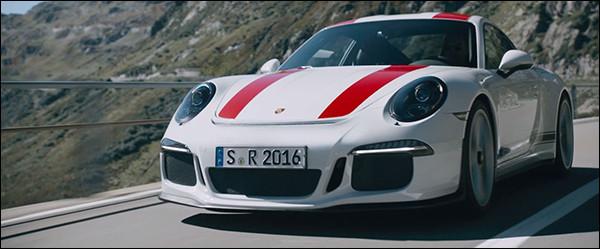 Video: Porsche 911 (991) R