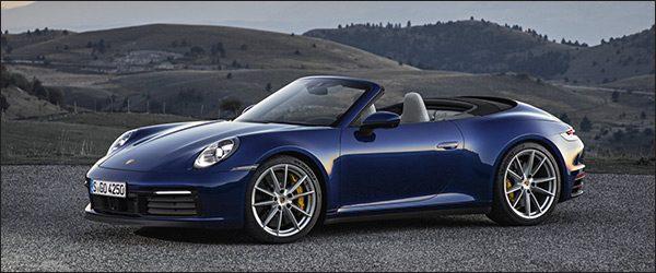 Officieel: Porsche 911 (992) Cabriolet (2019)