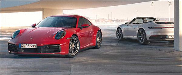 Officieel: Porsche 911 Carrera 4 (992) (2019)