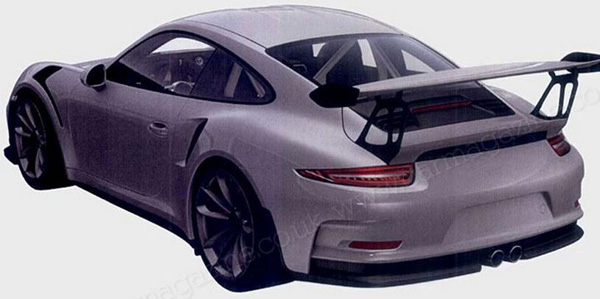 Porsche 911 GT3 RS 2015 Rear