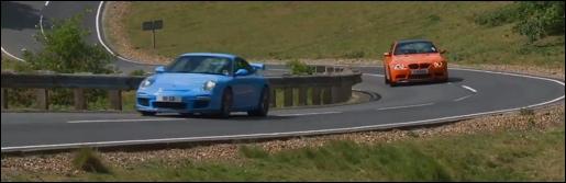 Porsche 911 GT3 vs BMW M3 GTS