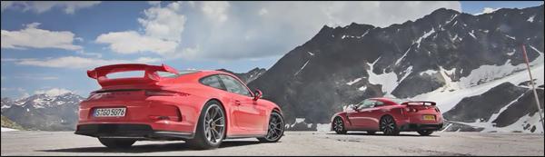 Porsche 911 GT3 vs Mclaren MP4-12C vs Nissan GT-R