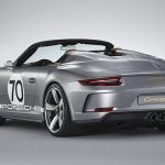 Officieel: Porsche 911 Speedster Concept (2018)