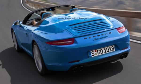 Porsche 911 Speedster 991 1
